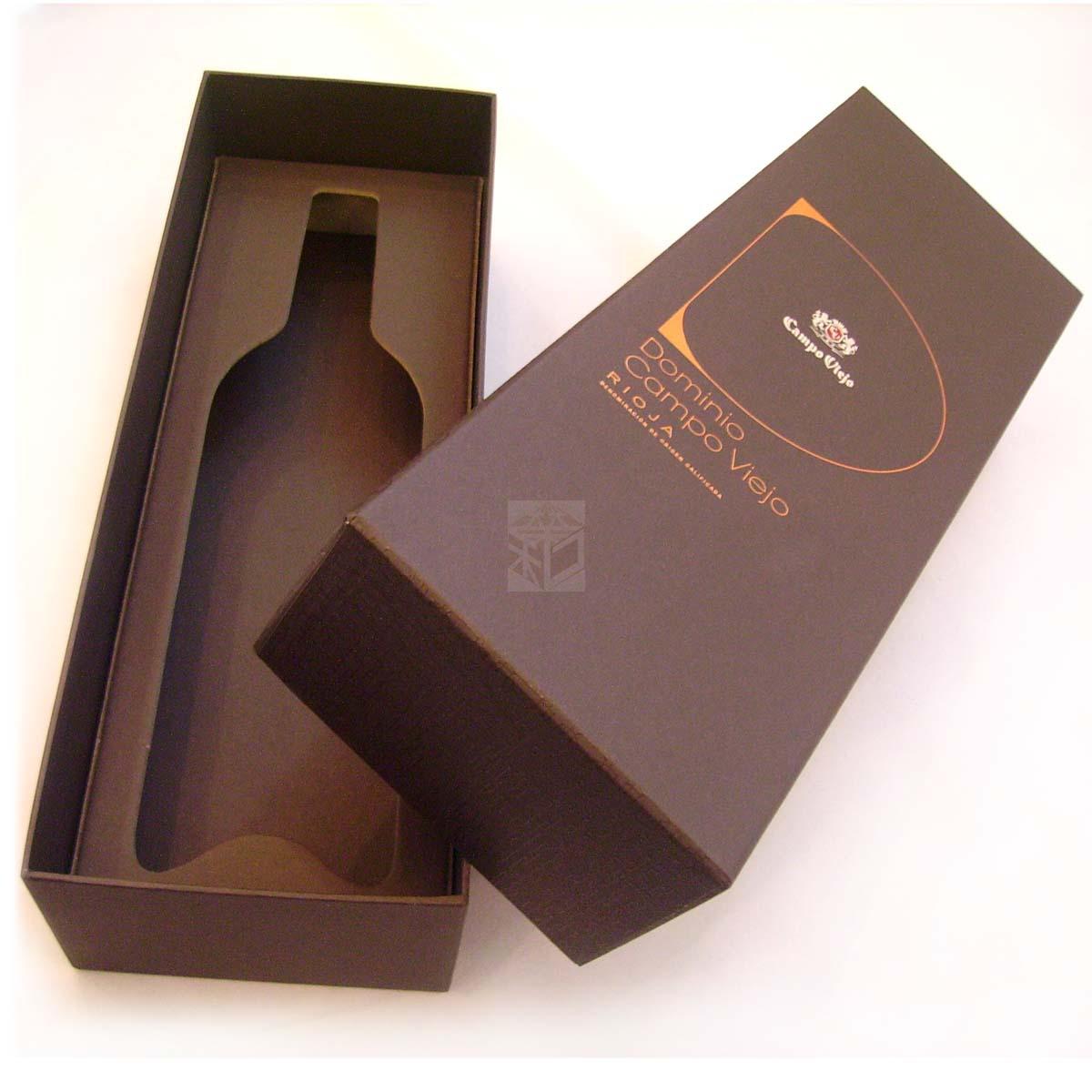 酒瓶類紙盒設計